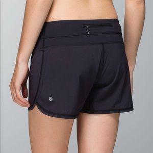 Lululemon Groovy Run Shorts Solid Black Size 4